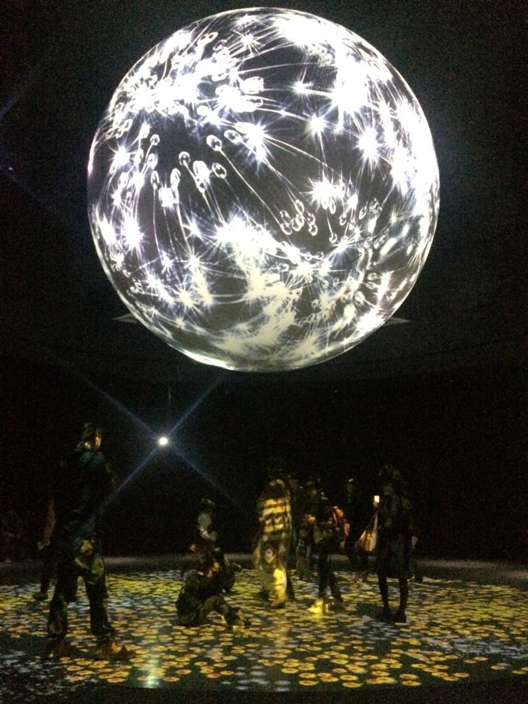ニフレル球体地球