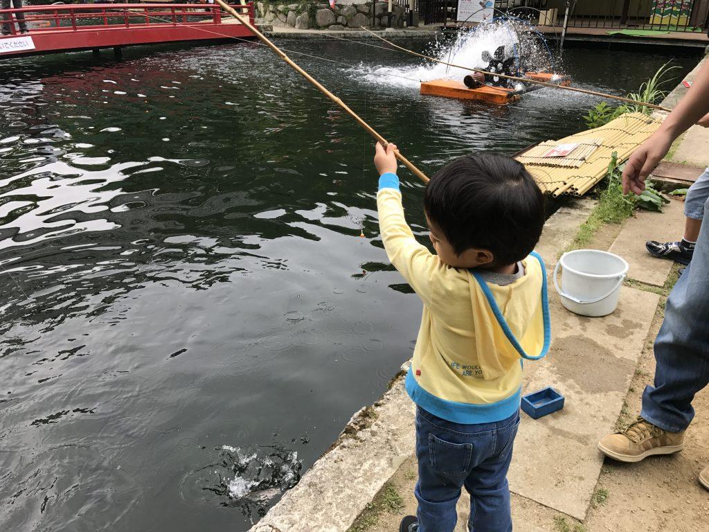 3歳でも自分で釣れる!