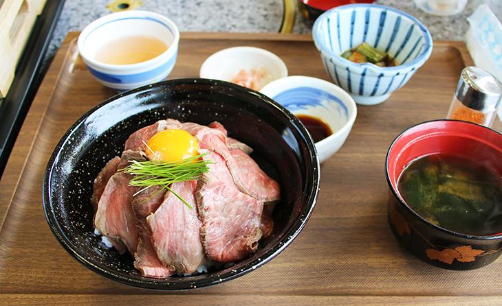 淡路牛の赤トロ丼