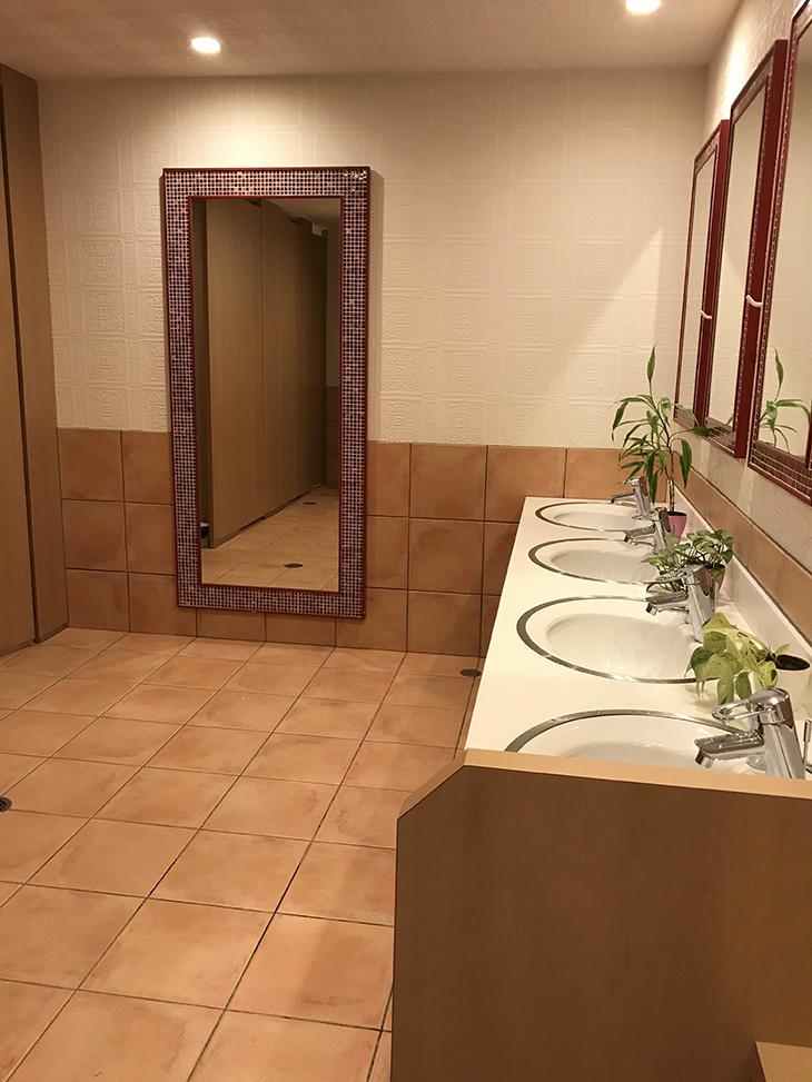 トイレもオシャレ