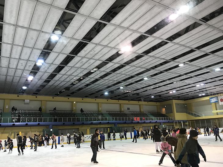 尼崎スポーツの森 スケート場