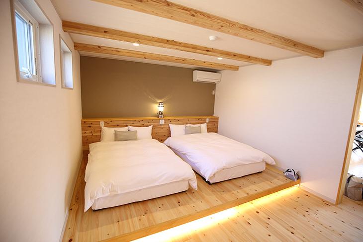 1階にも寝室