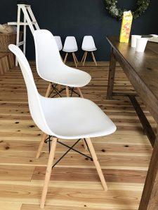この椅子好き。多分真似させてもらう。笑